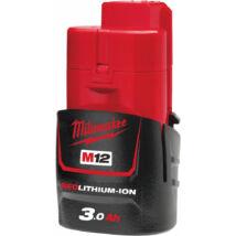 Milwaukee 3.0 Ah Akkumulátor | M12 B3 (4932451388)