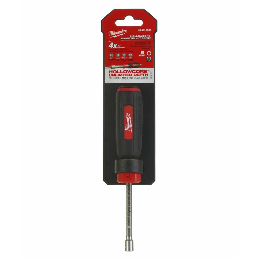 Milwaukee Hollowcore™ mágneses dugókulcs 5 mm - 1 db | 48222531