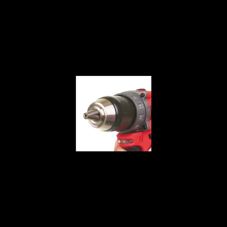 Milwaukee M12 Fuel ütvefúró-csavarozó | FPD-0 (4933459801)