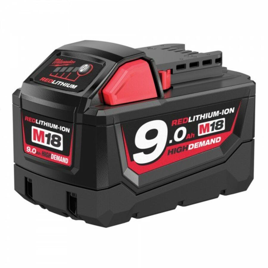 Milwaukee 9,0 AH Akkumulátor | M18 B9 (4932451245)