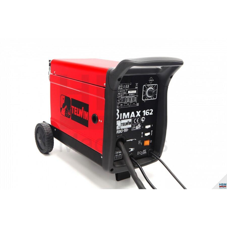 Telwin BIMAX 162 TURBO 230V MIG/MAG (CO)inverteres hegesztő | 821012T