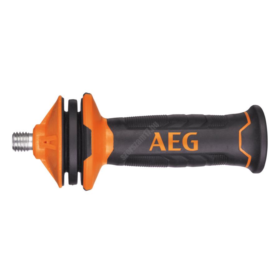 AEG 2400 W sarokcsiszoló, 230 mm, feszültség alatti biztonsági relé, 4 m kábel, kulcs, alátét, szorító anya, pótfogantyú , védőburkolat, koffer   WS 24-230 GEV (4935431765)