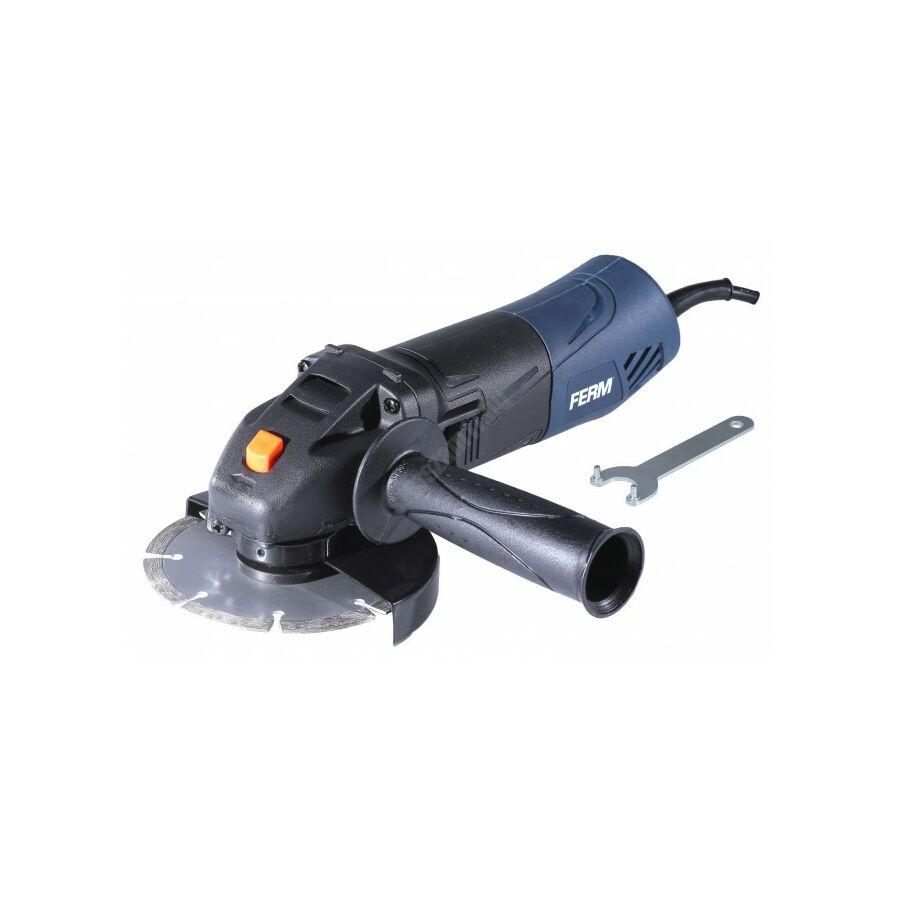 Ferm vezetékes sarokcsiszoló, 115 mm, 500 W   (AGM1086)