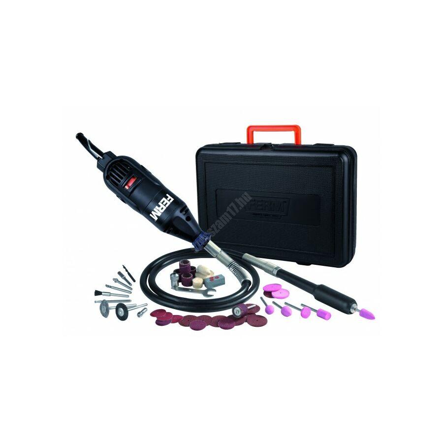 Ferm vezetékes kombi eszköz csiszoló hosszabbítóval, 160 W   FCT-160F (CTM1010)