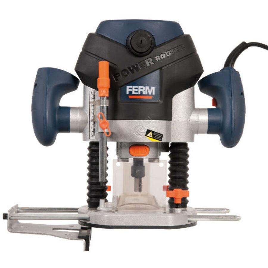 Ferm vezetékes felsőmaró, 1300 W, 6+8 mm foglalat   FDBF-1300 (PRM1015)