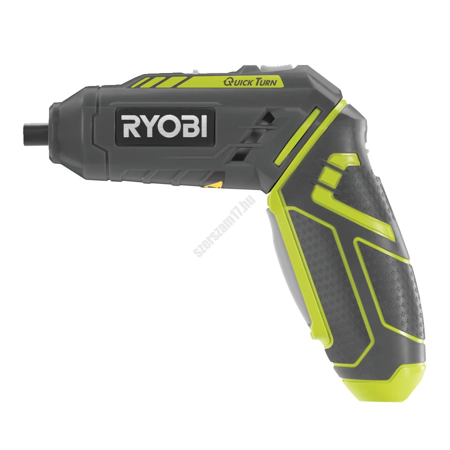Ryobi 4 V csavarozó, 1x1.3Ah akkumulátor, töltő, 5 x 25 mm csavarozó bit | R4SDP-L13C (5133002650)