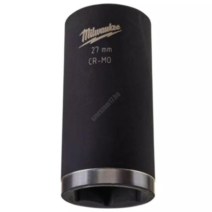 Milwaukee 1/2″ shockwave™ impact duty dugókulcs, hosszú, 27 mm   4932352858