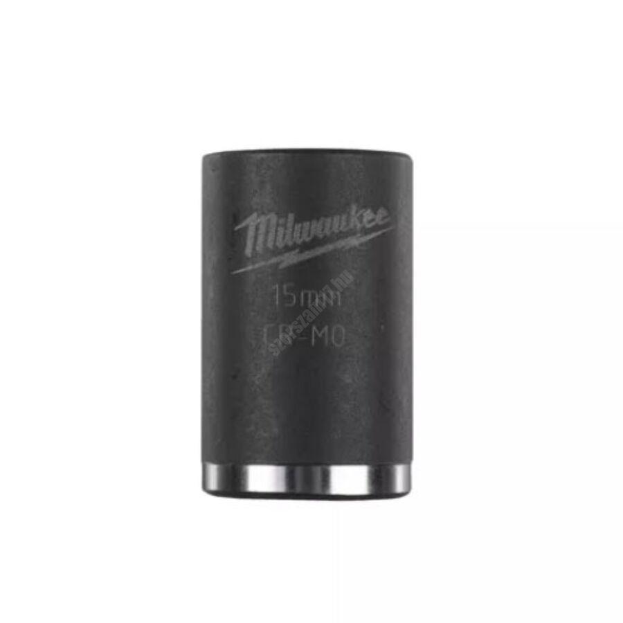 Milwaukee ⅜ ″ shockwave™ impact duty dugókulcs, 15 mm, rövid | 4932478014