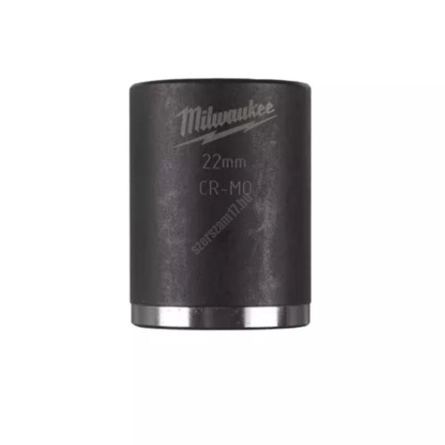 Milwaukee ⅜ ″ shockwave™ impact duty dugókulcs, 22 mm, rövid | 4932478020