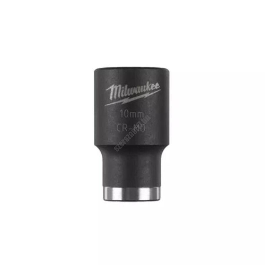 Milwaukee ½″ shockwave™ impact duty dugókulcs, rövid, 10 mm   4932478035