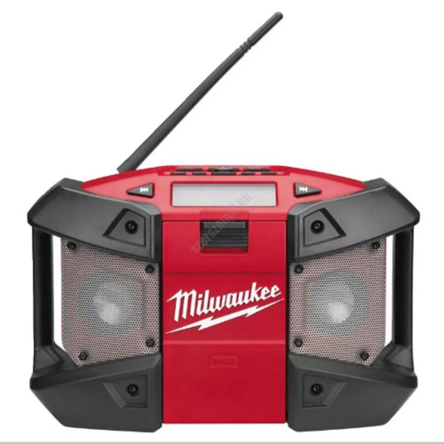 Milwaukee M12 rádió MP3 csatlakozással, akku és töltő nélkül   C12 JSR-0 (4933416365)