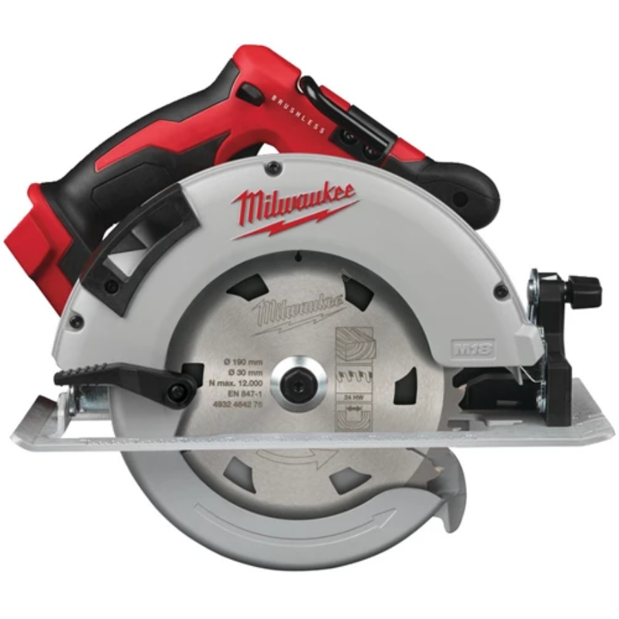 Milwaukee M18™szénkefe nélküli körfűrész fához és műanyaghoz 66 mm-es vágási mélységgel   M18 BLCS66-0 (4933464588)