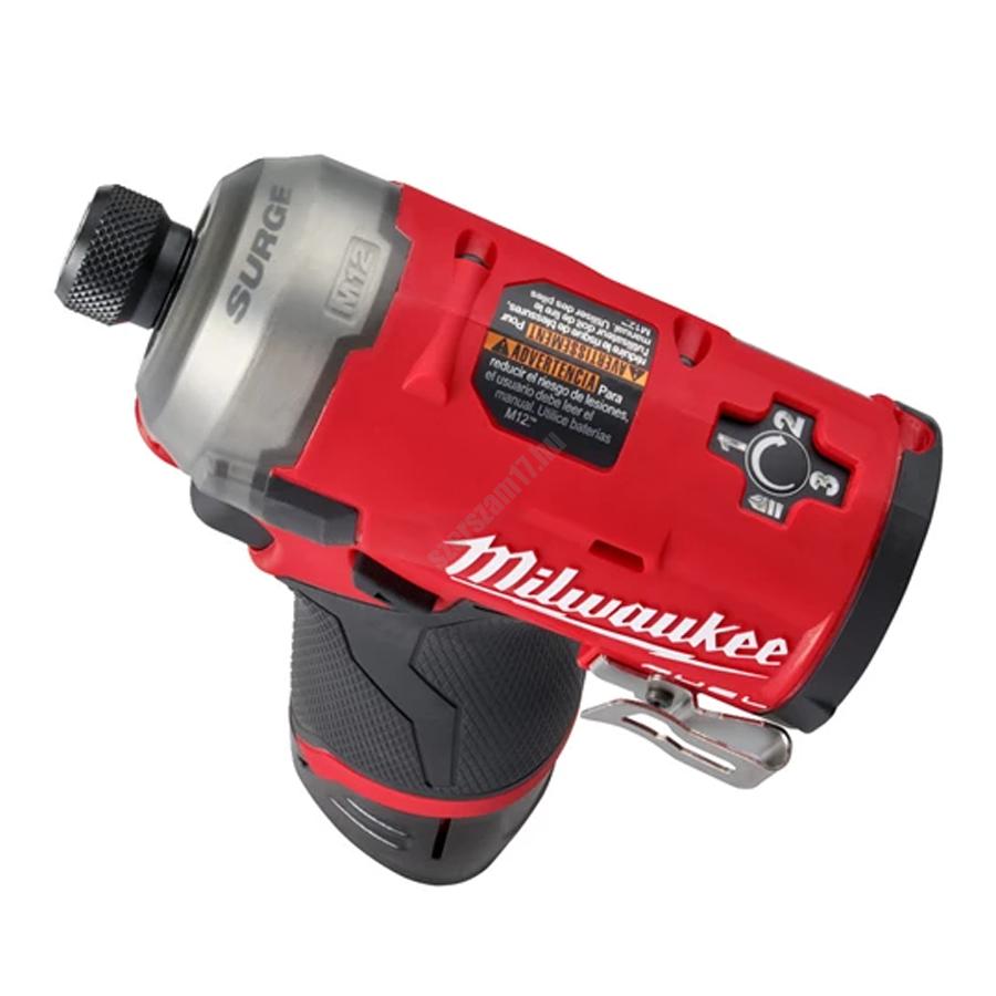 Milwaukee M12 FUEL™ SURGE™ ¼″ HEX hidraulikus ütvecsavarozó   M12 FQID (4933464973)