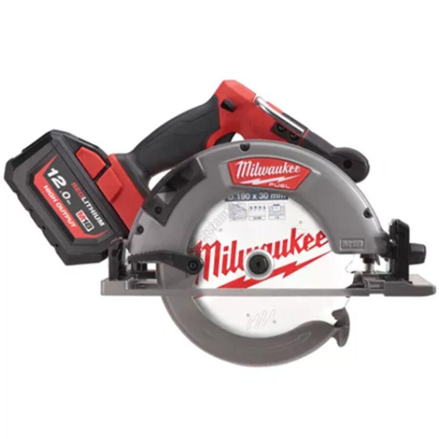 Milwaukee M18 FUEL™ 66 mm körfűrész fához és műanyaghoz, vezetősínnel kompatibilis | M18 FCSG66-121C