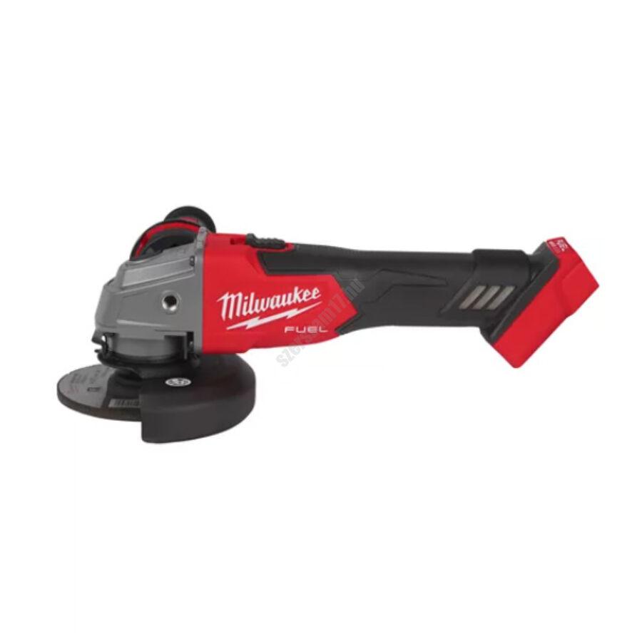Milwaukee 125 mm sarokcsiszoló csúsztatható kapcsolóval   M18 FSAG125X-0 (4933478701)