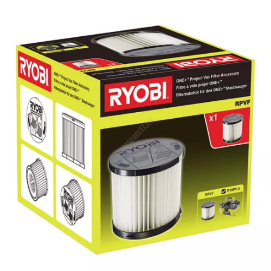 Ryobi Szűrő az R18PV porszívóhoz   RPVF (5132004211)
