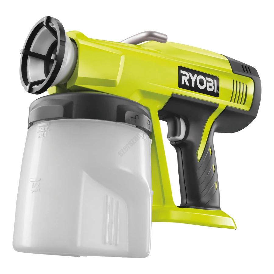 Ryobi 18 V festékszóró, akkumulátor és töltő nélkül   P620 (5133000155)