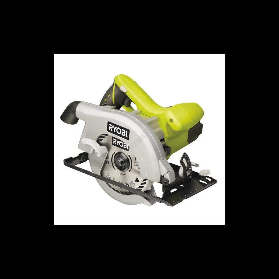 Ryobi 1150 W 55 mm körfűrész, 170x20 mm fűrészlap, 12 fogas TCT fűrészlap   EWS1150RS (5133000552)