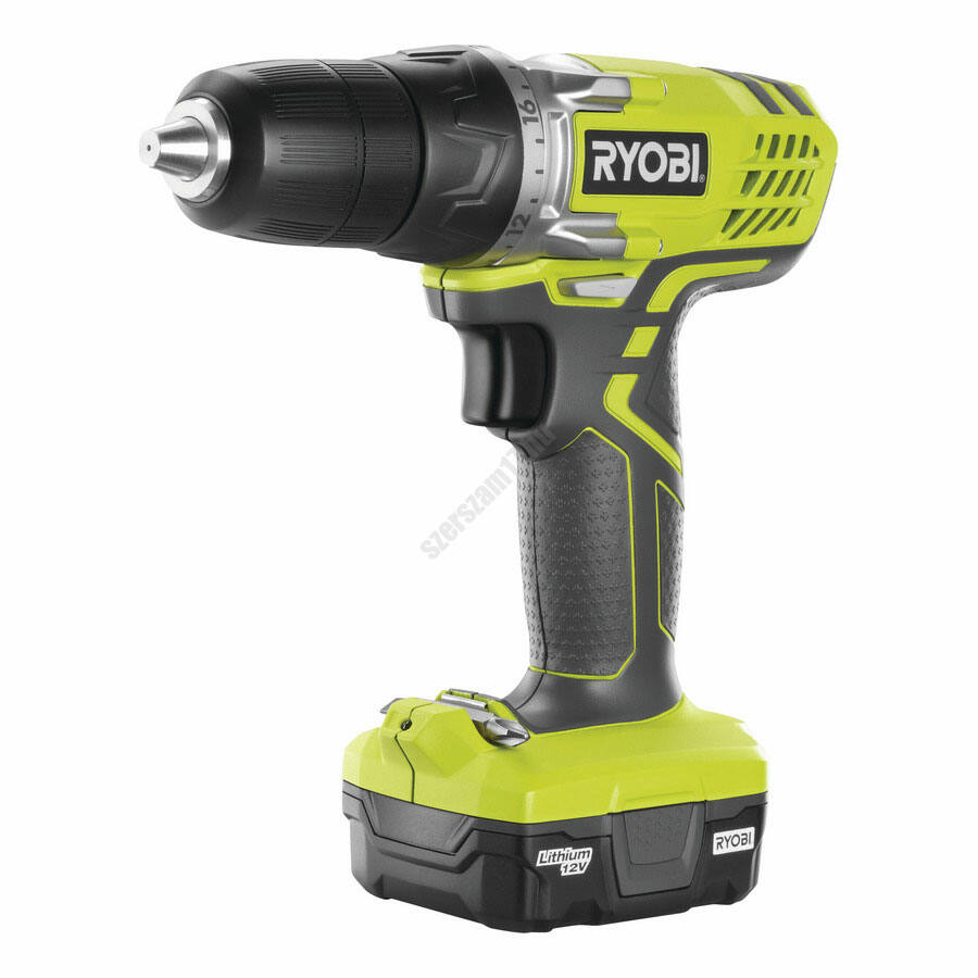Ryobi 12 V csavarozó, 1 x 1,3 Ah akku, töltő | R12SD-L13S (5133002322)