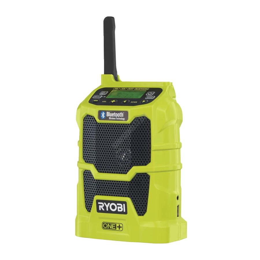 Ryobi 18 V rádió, akku és töltő nékül | R18R-0 (5133002455)