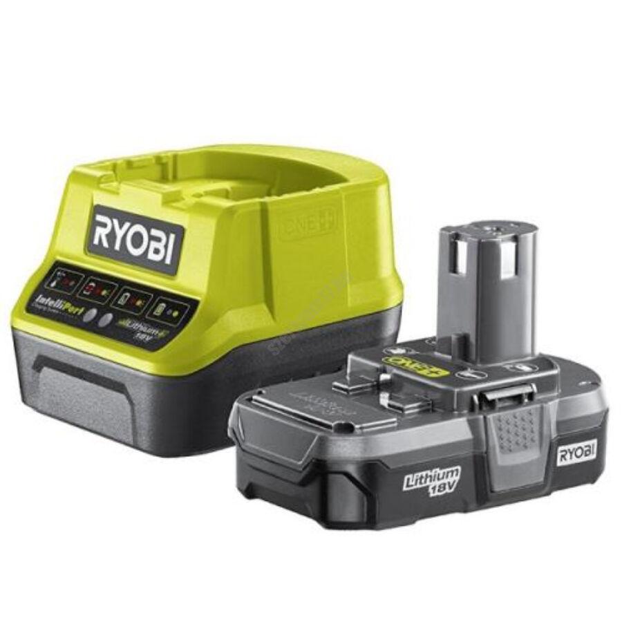 Ryobi 18 V töltő+ 1x1,3 Ah lítium-ion akkumulátor | RC18120-113 (5133003354)