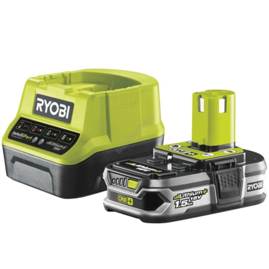 Ryobi 18 V töltő+1x1,5 Ah lítium-ion akkumulátor | RC18120-115 (5133003357)