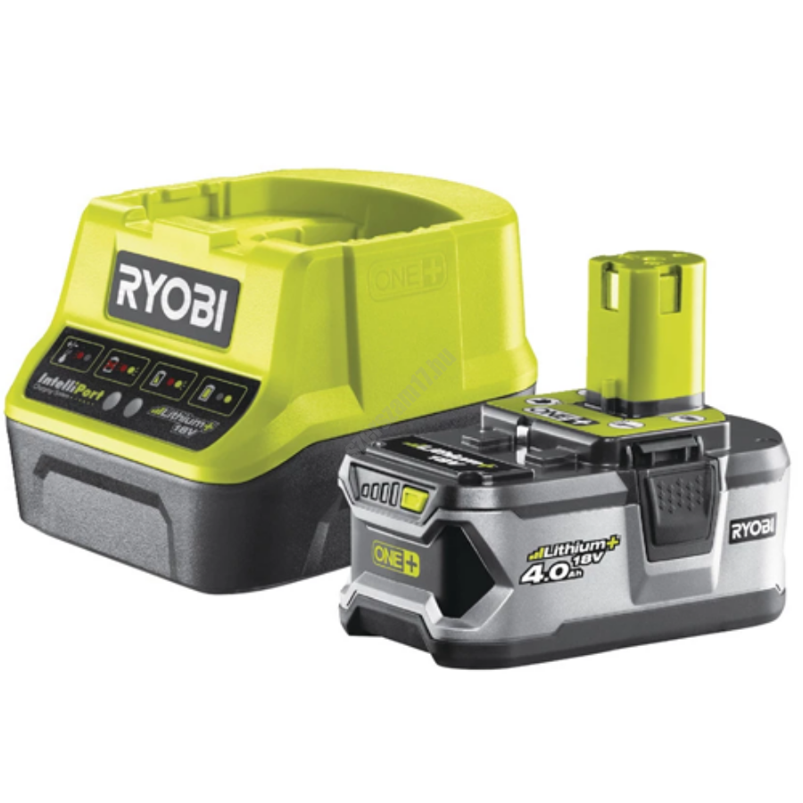 Ryobi 18 V töltő+1x4,0 Ah lítium-ion akkumulátor   RC18120-140 (5133003360)